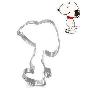 NWT Snoopy Fondant Stainless Steel Cookie Cutter